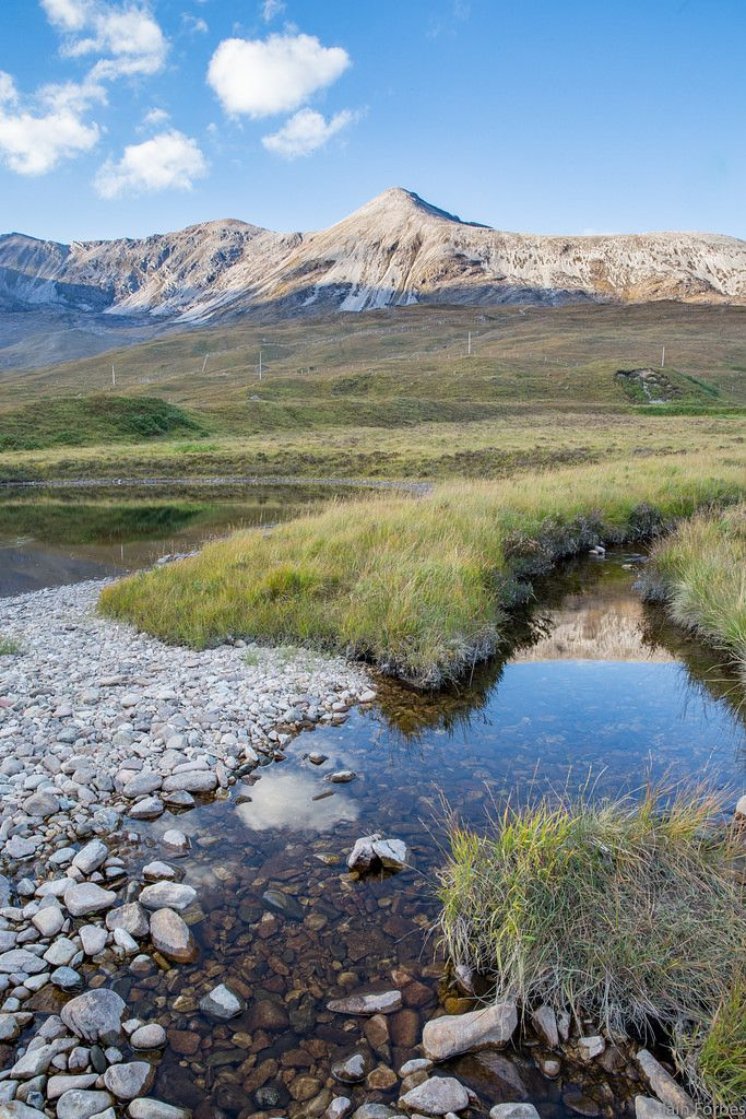 "wanderthewood: ""Creag Dubh from Loch Clair, Wester Ross, Scotland by f0rbe5 """