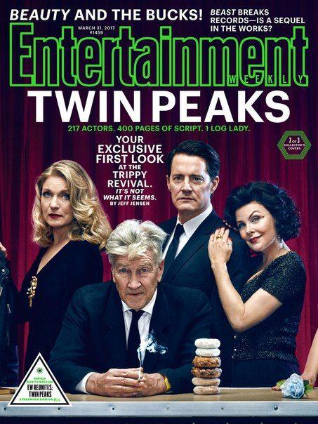 Новые кадры продолжения Твин Пикс: Дэвид Линч, постаревшая Лора Палмер и Дэвид Духовны в женском образе