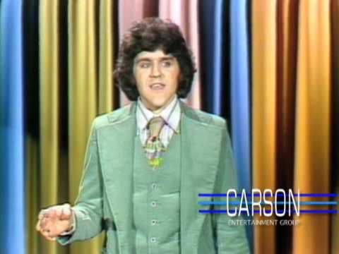 """Jay Leno's First Stand-up Appearance on """"The Tonight Show Starring Johnny Carson"""" - 1977"""