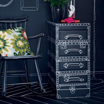 paint the details you want on your furniture!