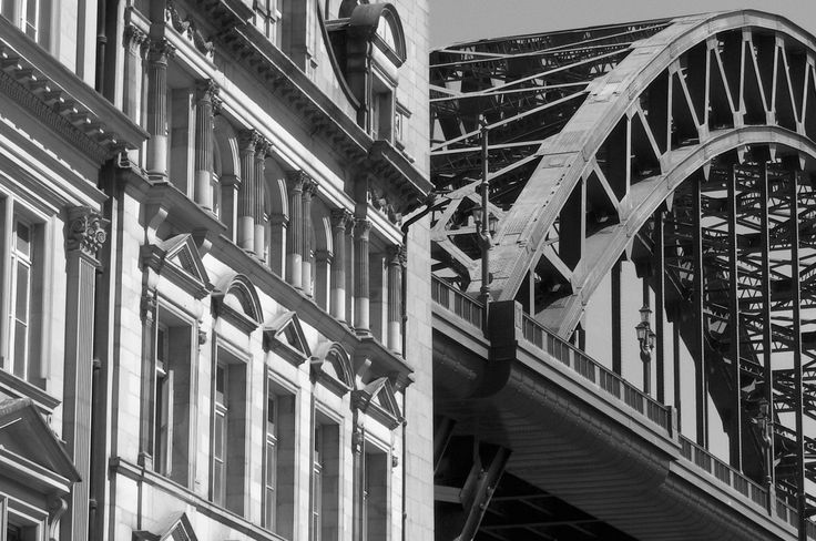 Newcastle's Tyne Bridge - see this & other local photographs and photo jewellery on our Web site