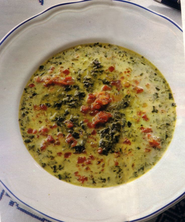 Original German recipe in English: Kale soup as we make it in Germany!