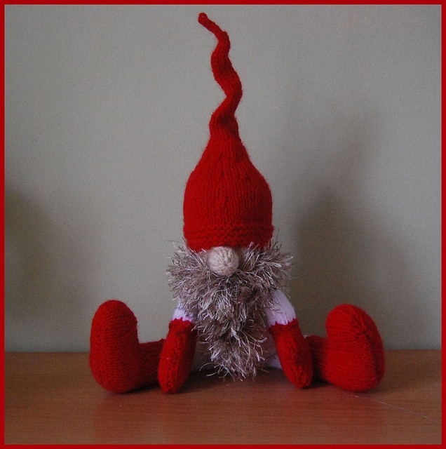 Hancrafted Yuletide Gnome (Alan Dart( For sale on eBay. by clare.gant, via Flickr
