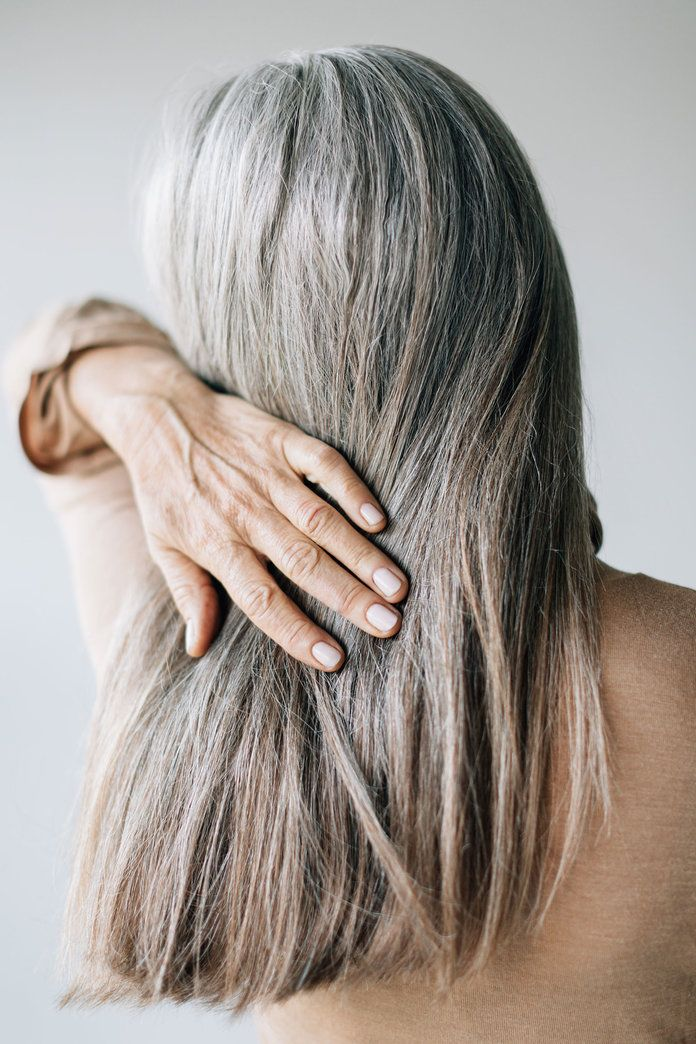 The Best Haircare And Styling Products For Gray Hair Gray Hair Styling Tips Premature Grey Hair Natural Gray Hair Hair