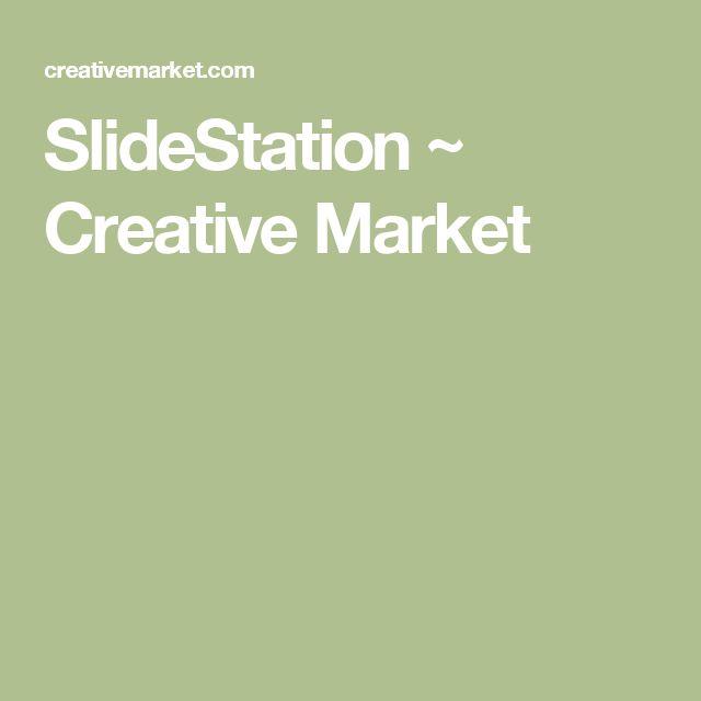 SlideStation ~ Creative Market