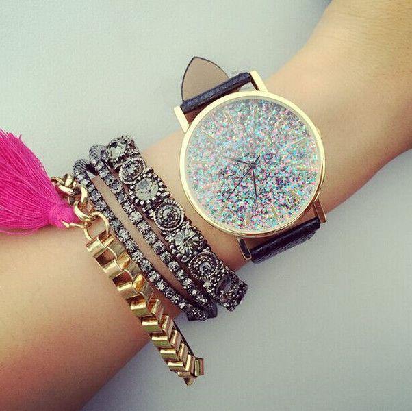 Vintage+Damen+Armbanduhr,Boho+Leder+Uhren+von+missyouparty+auf+DaWanda.com