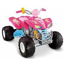 Getting this for Raidyn 4 Xmas :)!!!   Power Wheels Fisher-Price Kawasaki KFX Quad Ride On - Barbie