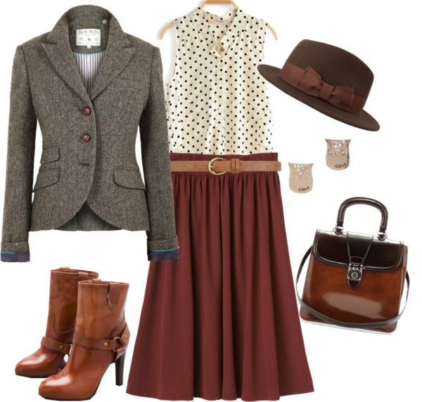 """""""English Country"""" by vintagerose914 on Polyvore"""