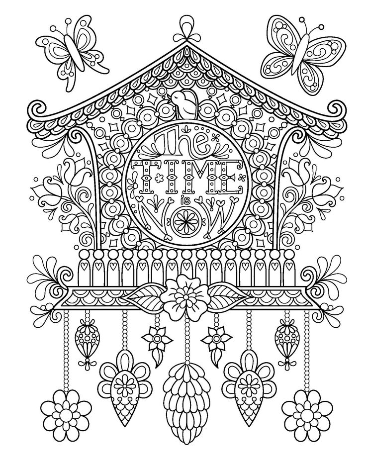 267 best Dibujos 07 images on Pinterest | Coloring pages, Adult ...