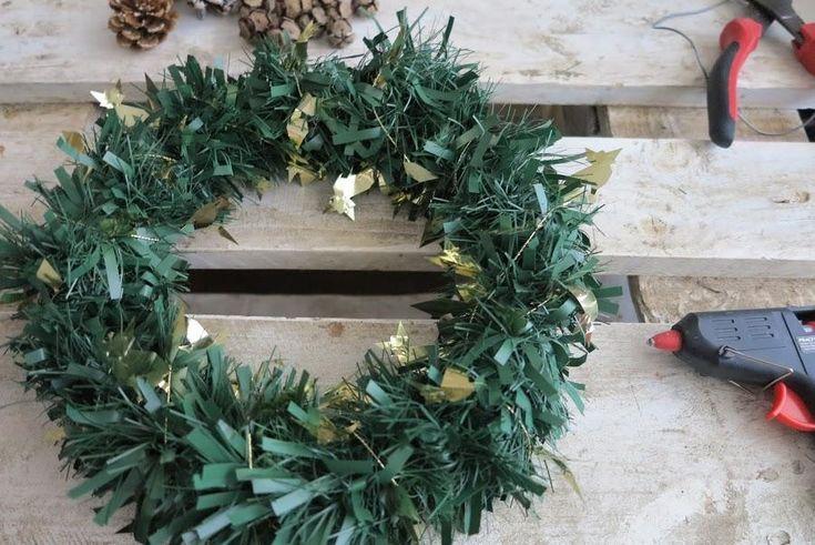 DIY... Corona de Navidad