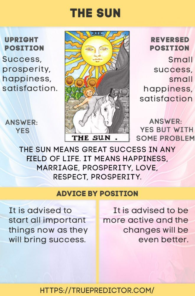 The Sun Card Meaning For Love Career And Future With Images