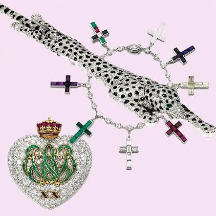 The Duchess of Windsor amazing jewellery