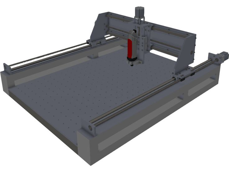 3 Axis CNC 3D Model