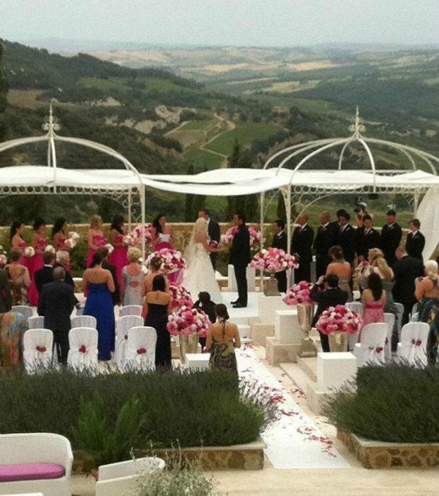 Luxury castle for weddings, Wedding ceremony