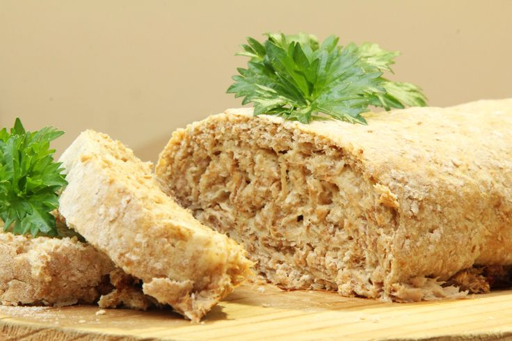 Meaty Bread Loaf.  Meat eating, toddler friendly and good for them recipe!!