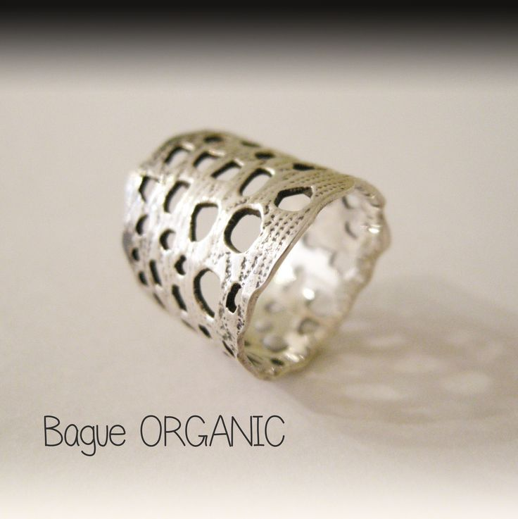 Bague collection dentelle