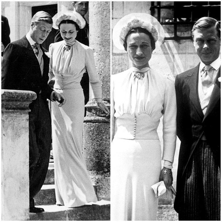 Gli abiti da sposa più belli della storia (Foto 30/30) Wallis Simpson sposò il Principe Edoardo, duca di Windsor, nel 1937   Donna Nanopress