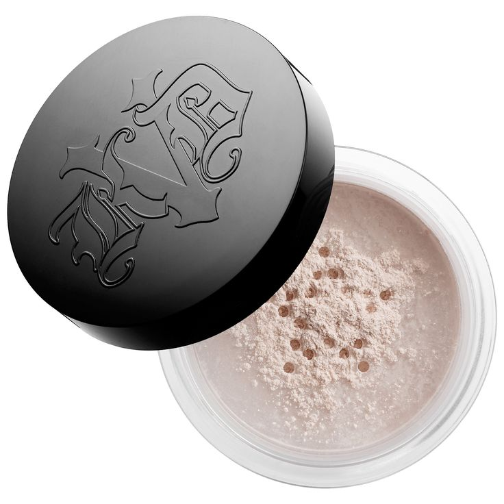 Shop Kat Von D's Lock-It Setting Powder at Sephora. It smooths imperfections, locks in your makeup look, and creates a velvet-matte finish.