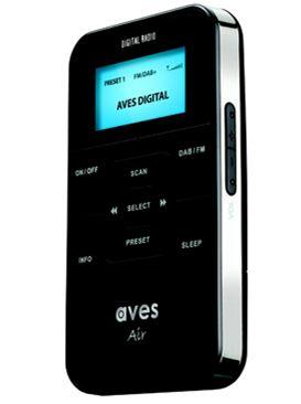 Aves Air DAB pocket sized radio