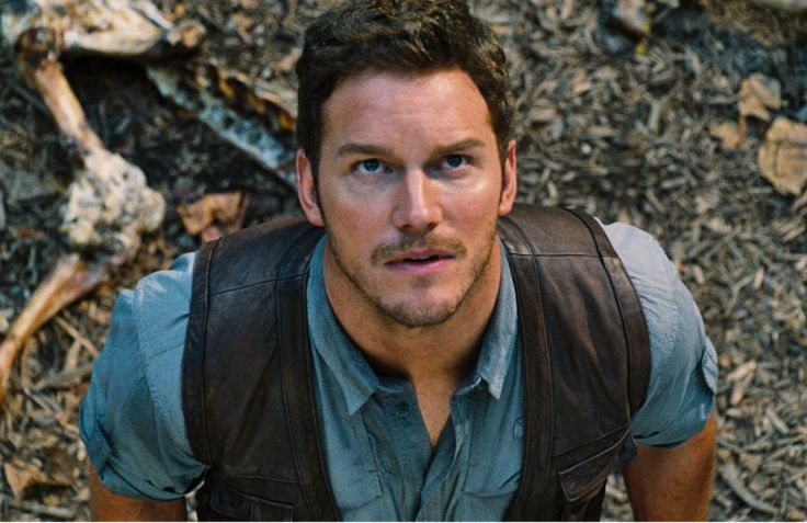"J for ""Jurassic World"" - Colin Trevorrow (2015) - Chris Pratt."