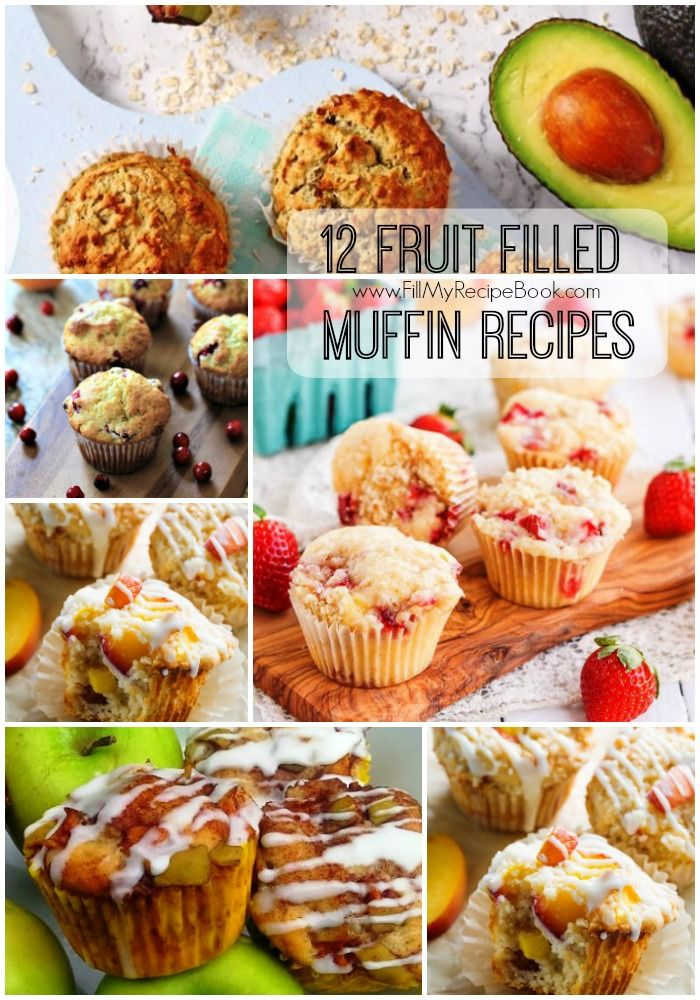 12 fruit filled muffin recipes fill my recipe book awesome