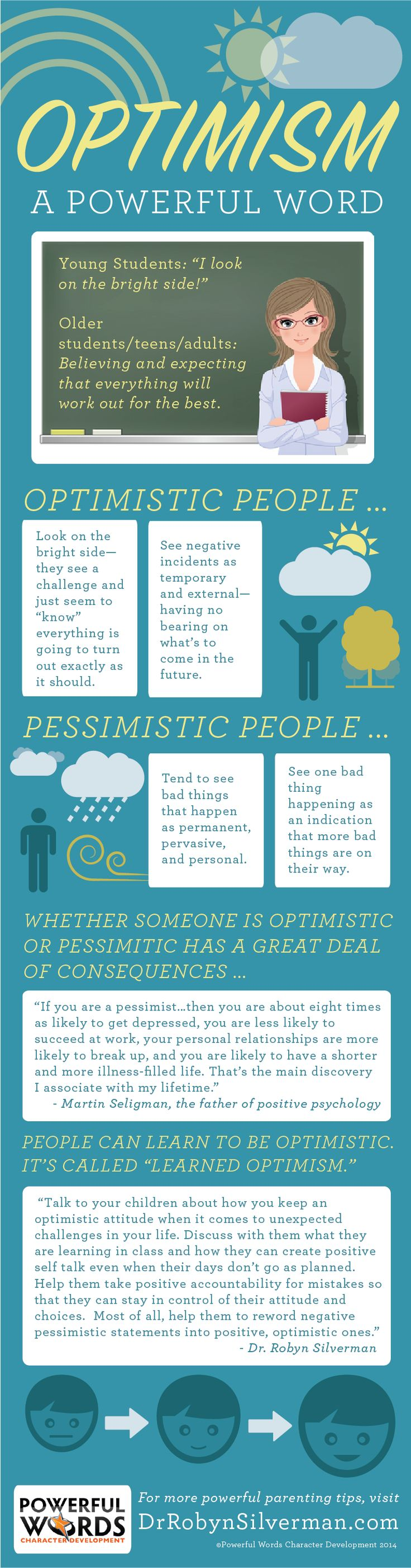 17 best images about optimism perspective positive optimism powerfulword get more parenting tips at drrobynsilverman