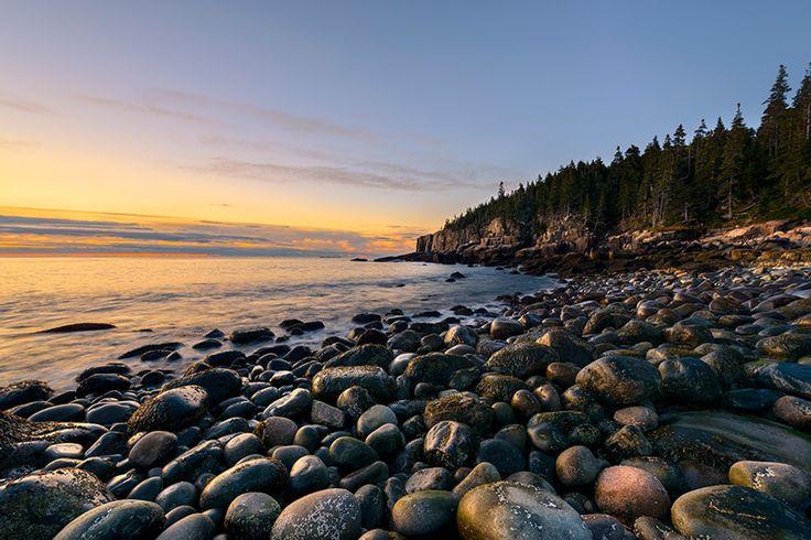 Sunrise coastline