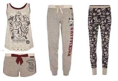 Harry Potter Women's PJ Set Pyjamas Gryffindor Vest & Shorts or Bottoms Primark