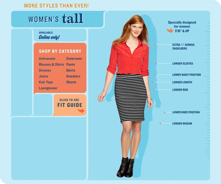 Women's tall clothing stores