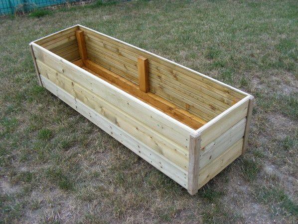 A la suite de la construction de mon abri de jardin il me - Jardiniere grande taille ...