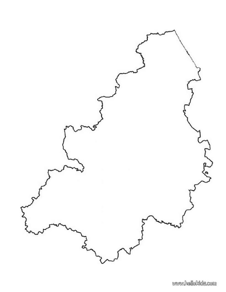 belgium coloring pages - belgium map blank to print and color or color on line