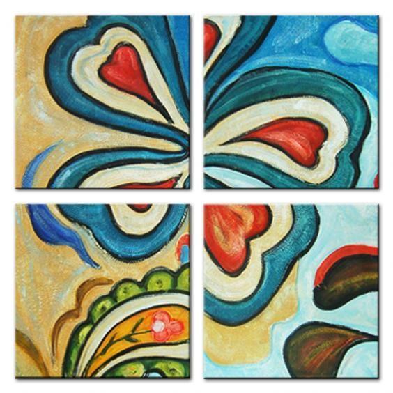 Schilderij Klavertje Vier
