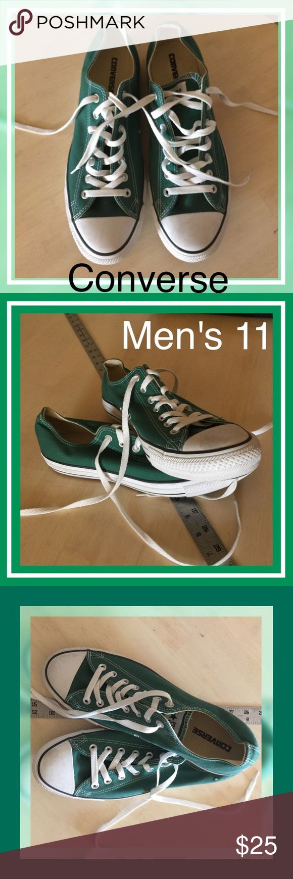 ⭐️NWOT Men's Converse Green Size 11 Men's Converse All Star Tennis shoes. Green Size 11. All orders are shipped same or next business day. Bundle to save even more money! Converse Shoes Sneakers