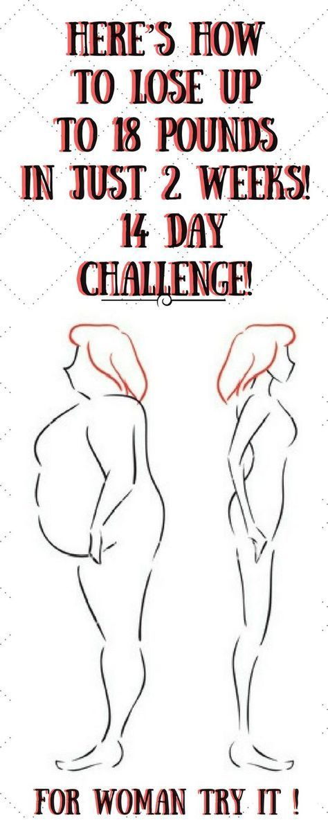 How To Lose Up To 18 Pounds In Just 2 Weeks! 14 Day Challenge! You've presumably attempted diverse strategies, including outrageous weight control plans, di