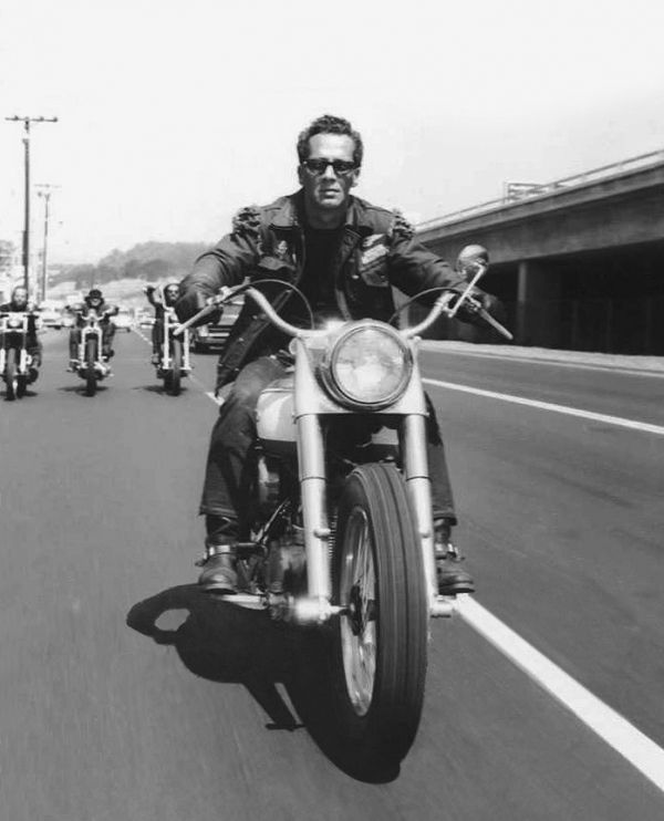 Sonny Barger, godfather of Hell's Angels.