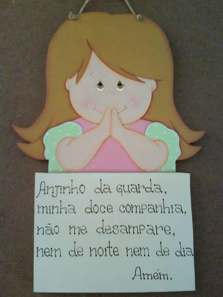 Menina Oração
