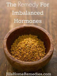 The Remedy For Imbalanced Hormones