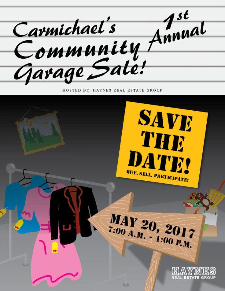 Carmichael's 1st Annual Community Garage Sale
