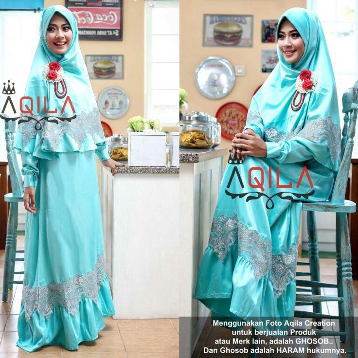 Kayyisa 02  Set dress + hijab in black edition.  Idr. 310k  Contact us for details :  Line :  aqilacreation aqilahijab  Whatsapp :  +62-823-0000-9229 +62-823-0000-9191  Pin bbm : 5219beb8 5206ac0e  #hijabsyari #hijab #hijabtrend #jilbab #busanamuslimah #bajumuslimah #khimar #dress #gamissyari #aqilacreation #bergo #jilbab