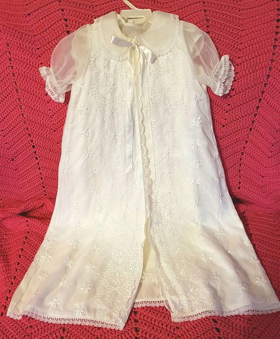 Check out this item in my Etsy shop https://www.etsy.com/ca/listing/584301591/vintage-3-piece-girls-6-12-month-silk