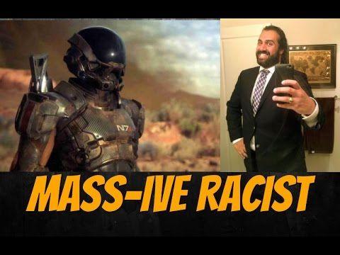 Mass Effect Designer Manveer Heir Hates White People