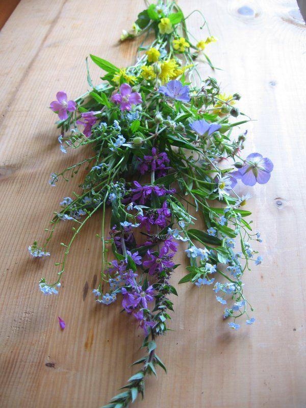 Květinové zátiší | Kytice lučních květin.