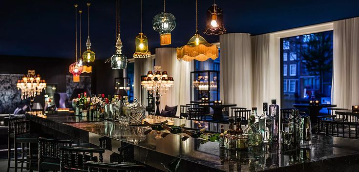 Speakeasy atmosphere at the canal