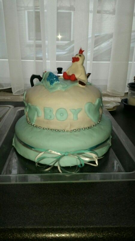 Taart babyshower made by Madelon