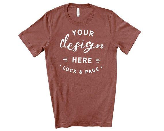 Download Free Mens Bella Canvas 3001 Mauve T Shirt Mockup Simple Plain Psd Free Psd Mockups Mockup Free Psd Free Psd Mockups Templates Shirt Mockup
