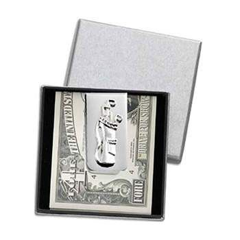 Golf Gifts Golf Bag Moneyclip in a Gift Box at golfessentials.in