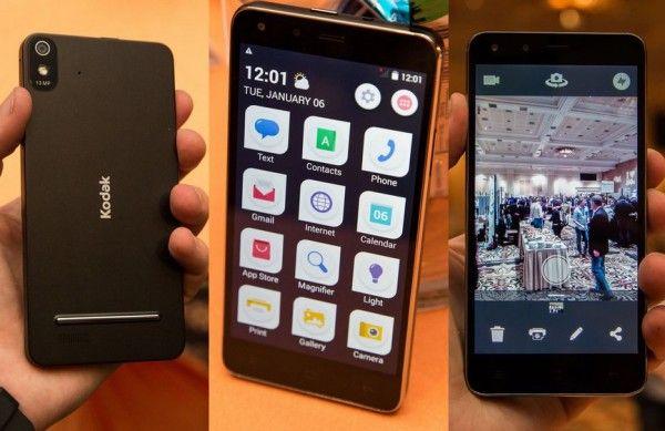 KODAK IM5 5-Inch Smartphone Announced at CES 2015
