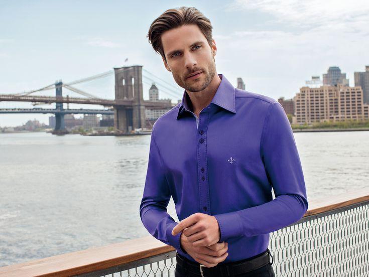 O público poderá conferir as camisas que são desenvolvidas com matéria prima de primeira qualidade. Dudalina na #casualdenovamutum