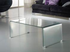 Mesas de Centro de cristal transparente : Colección GLASS