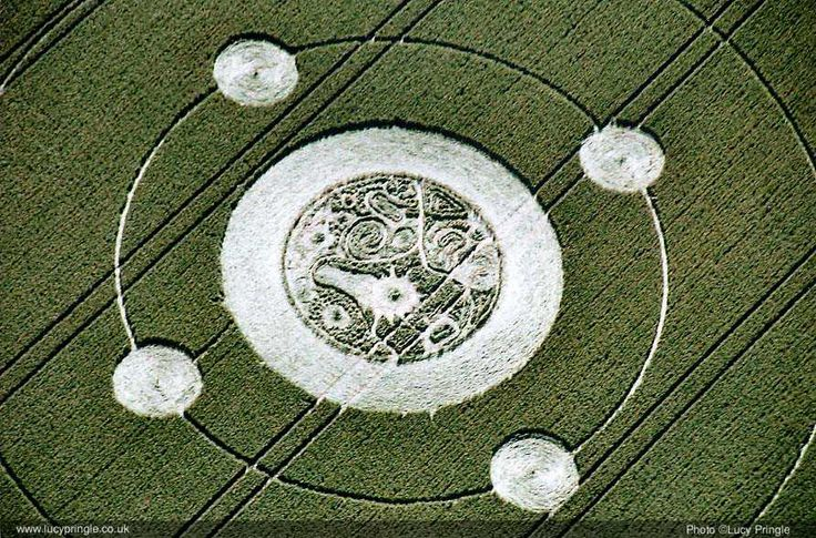 Communion crop circle thesis